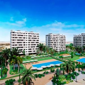 2 Chambres, Appartement, Bien Neuf, calle acantilado, 2 Salles de bain, Listing ID 1600, torrevieja, Espagne,